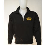 Black 1/4 Zip Dad Sweater (small)