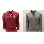 Mens Alumni 1/4 Zip Knit Sweater